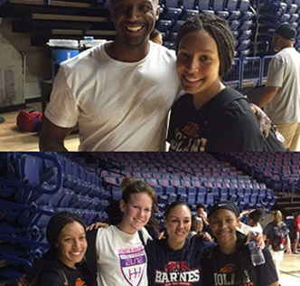 Basketball Coach's Family Life and Career